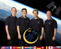 International Space Station Expedition 16 Official Crew Photograph  #2